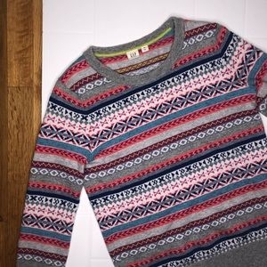 🆕 GAP / holiday multicolor sweater